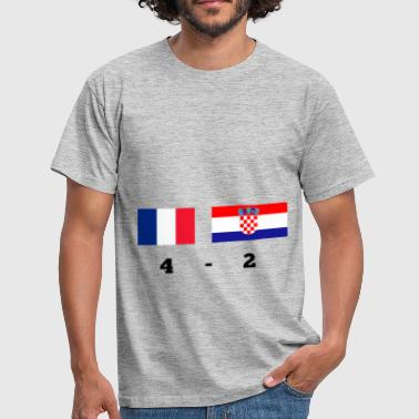 Croatia France Croatia - Men's T-Shirt
