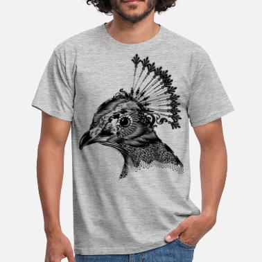 Peacock Peacock - T-skjorte for menn