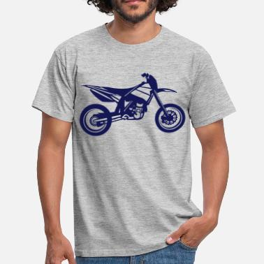 Husqvarna Motorcycle SuperMoto - Men's T-Shirt