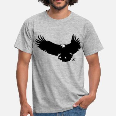 Eagle Eye Eagle silhouette - Men's T-Shirt