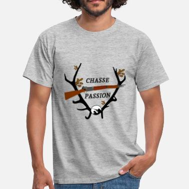 Chasser chasse passion - T-shirt Homme