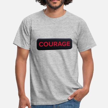 Courage Courage Patch - T-shirt herr