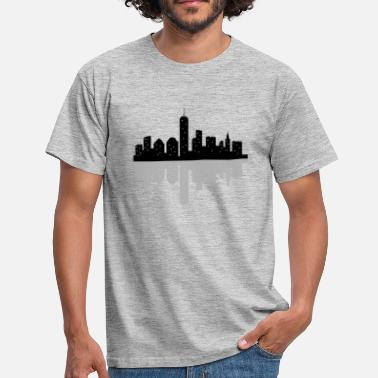 Skyline new york skyline - Men's T-Shirt