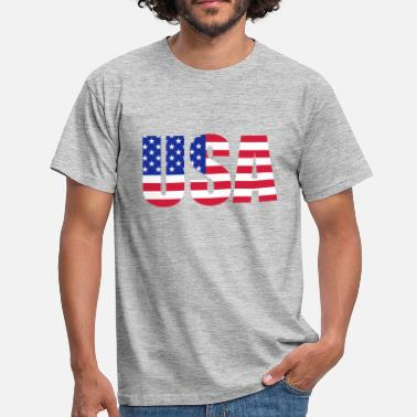 Stars And Stripes American flag - Men's T-Shirt