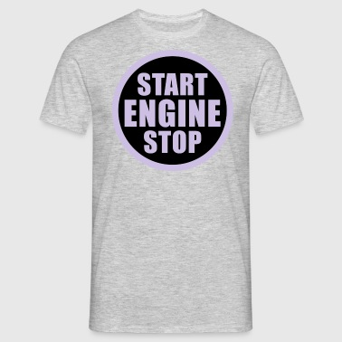 Engine start stop - Männer T-Shirt