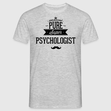 100 percent pure super Psychologe - Men's T-Shirt