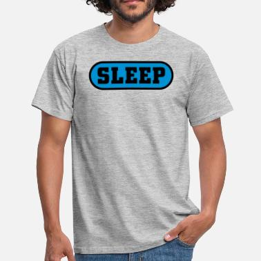 Buttons Jga Sleep Button - Männer T-Shirt