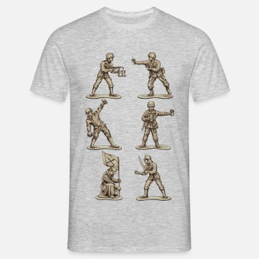 Toy Soldier FASTFOOD SOLDIERS - Men's T-Shirt