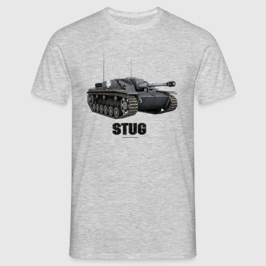 World of Tanks Stug Men Hoodie - T-skjorte for menn