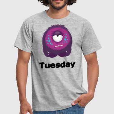Tuesday Monster - Men's T-Shirt
