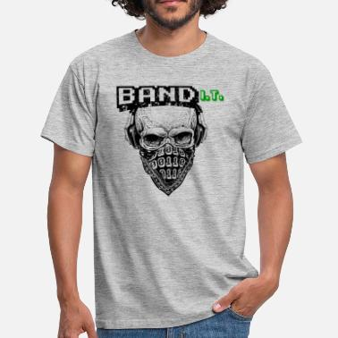 Nerd Computer Science Coder shirt bandit - Men's T-Shirt