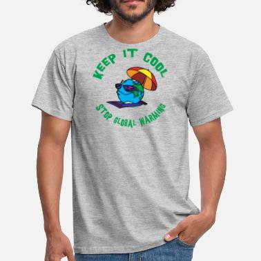 Global Warming Earth Day Stop Global Warming - T-shirt herr