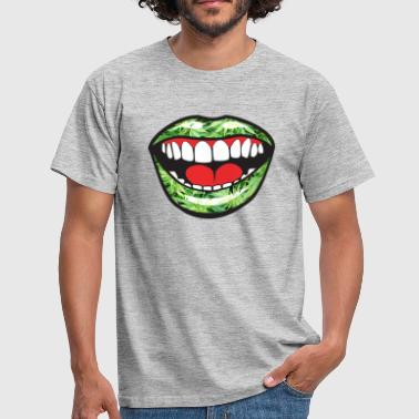 Mouth Weed - T-shirt Homme