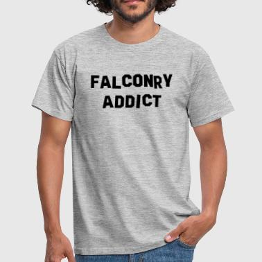 Falconry falconry addict - Men's T-Shirt