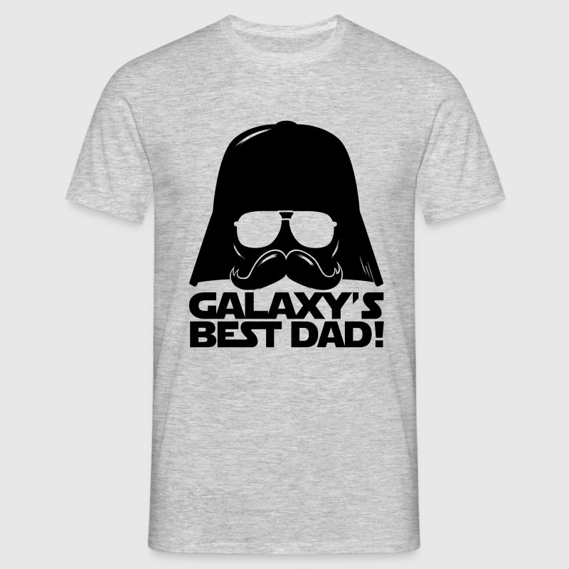 Funny Galaxy's best dad statement - Men's T-Shirt