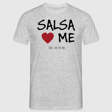 Salsa love me.png - T-shirt Homme