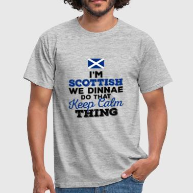 Gaelic I'm Scottish - Men's T-Shirt