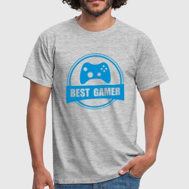 Worlds Best Gamer - Men's T-Shirt