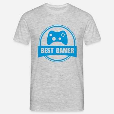 Worlds Best Gamer Best Gamer - Men's T-Shirt