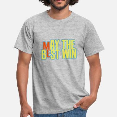 may the best win : ME - Mannen T-shirt