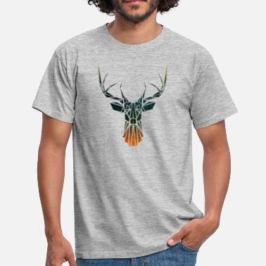 Tribal Deer - Men's T-Shirt