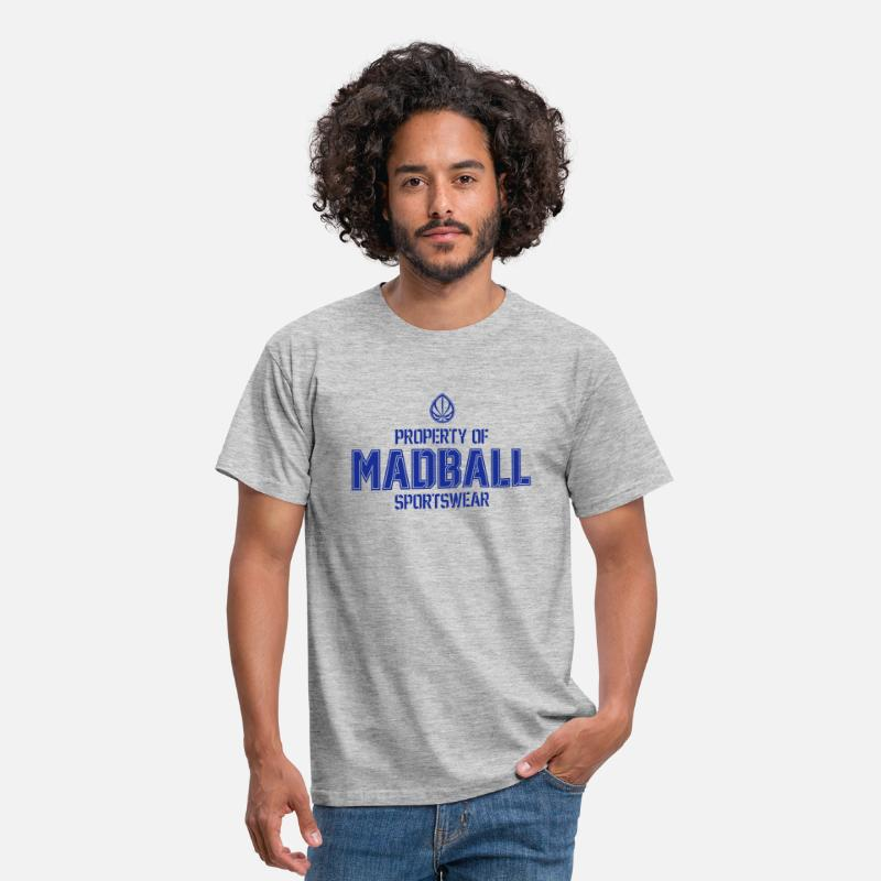 Madball T-shirts - Property of MADBALL - T-shirt Homme gris chiné