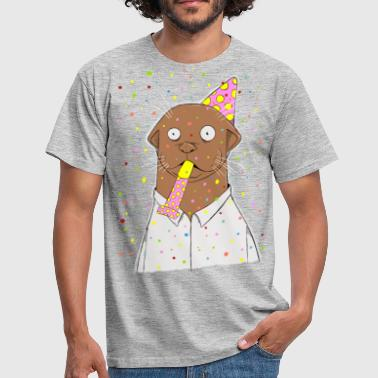 Party, otter was? - Männer T-Shirt
