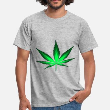 Cannabisblad Cannabisblad - Mannen T-shirt