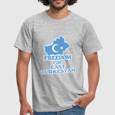 Freedom for East Turkestan - Koszulka męska