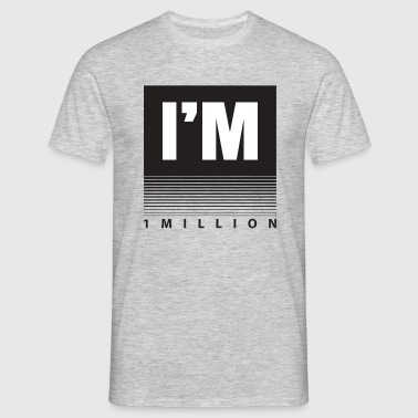 1 Million - Men's T-Shirt
