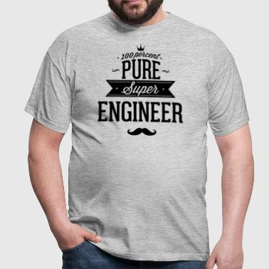 Engineer with all my heart - Men's T-Shirt