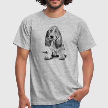 Basset-Hound - Men's T-Shirt
