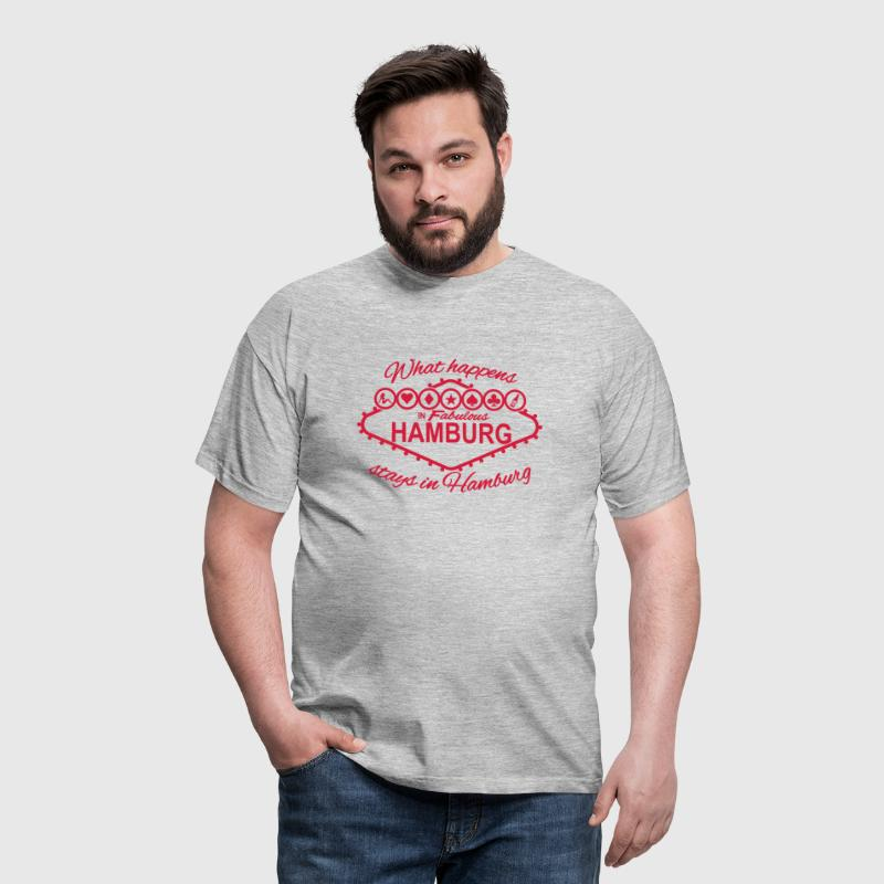 what happens in Hamburg stays in Hamburg - Männer T-Shirt