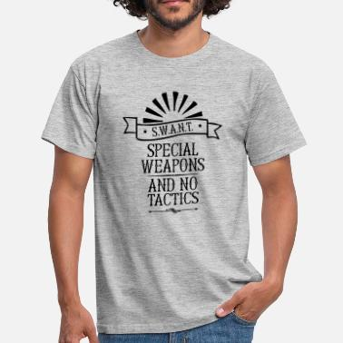 Special Weapons And No Tactics Hippster Shirt - Männer T-Shirt