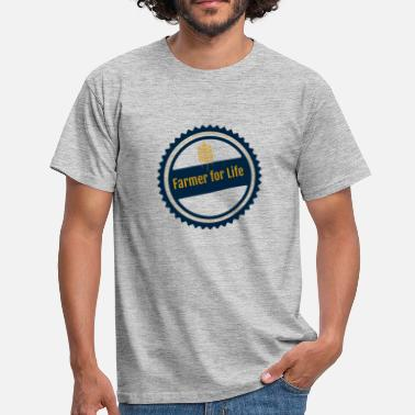 Landmandskone Landmand for livet - Herre-T-shirt