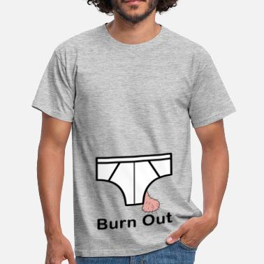 Kangourou Burn Out - T-shirt Homme