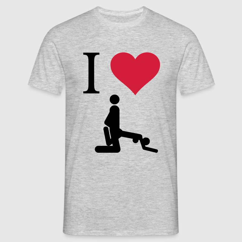 I love Sex - Männer T-Shirt