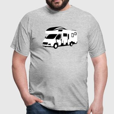 Camper, motor home - On the road - Camiseta hombre