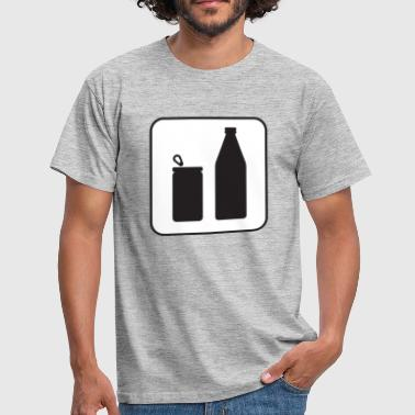 drinker - Mannen T-shirt