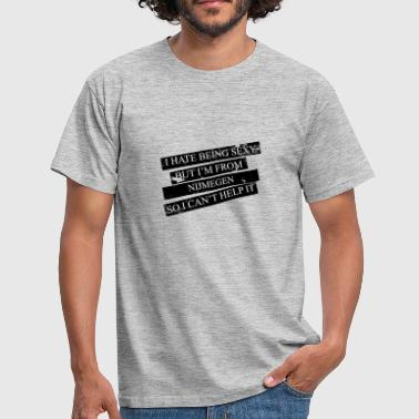 Motive for cities and countries - NIJMEGEN - Men's T-Shirt