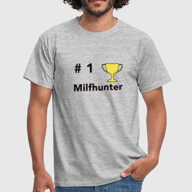 NO.1 Milfhunter - Herre-T-shirt