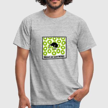 kiwi or not kiwi - Men's T-Shirt
