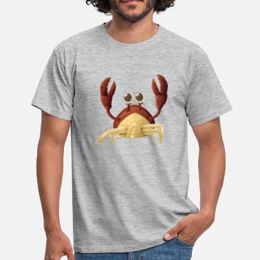 Crab Kids Cute crab - kids - kids - Men's T-Shirt