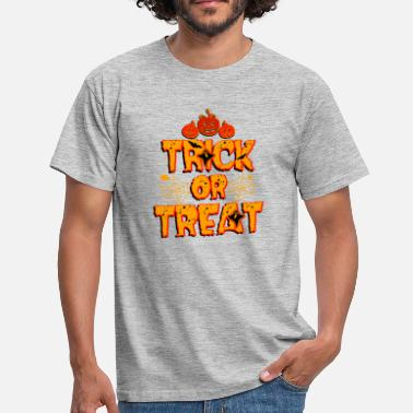 Trick Or Treat Trick or Treat Trick or Treat Halloween - T-shirt Homme