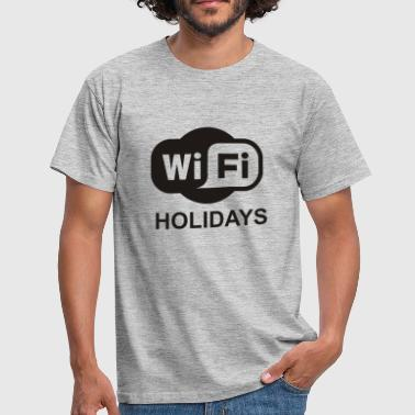 WIFI WLAN Mobile Phone Mobile Phone Smartphone tablet Ge - Men's T-Shirt