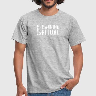 Rituals Morning Ritual Skeleton Coffee Gift - Men's T-Shirt