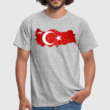 Turkey flag - Men's T-Shirt