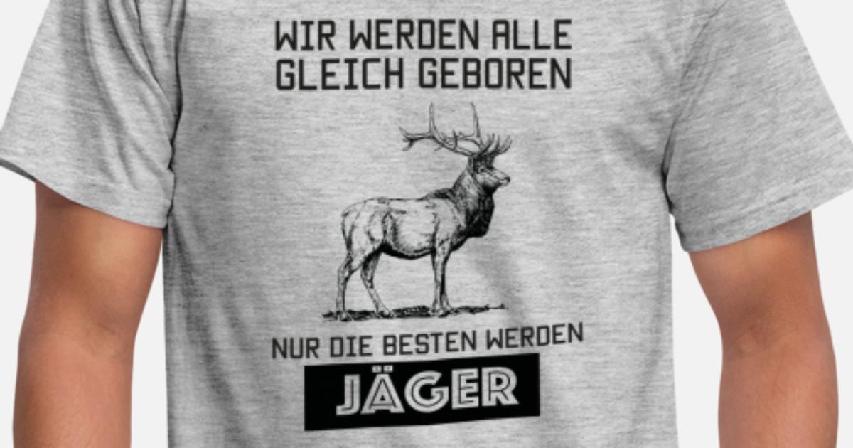 Nur die besten werden Jäger Jagd Geschenk von meshhead-shirts ...