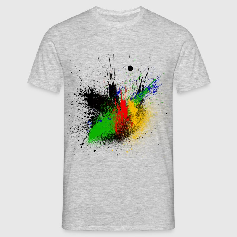 Abstrait design color - T-shirt Homme