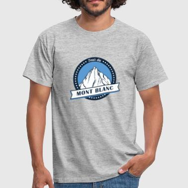 Tour du Mont-Blanc Alps Long Distance Hiking Shirt - Men's T-Shirt